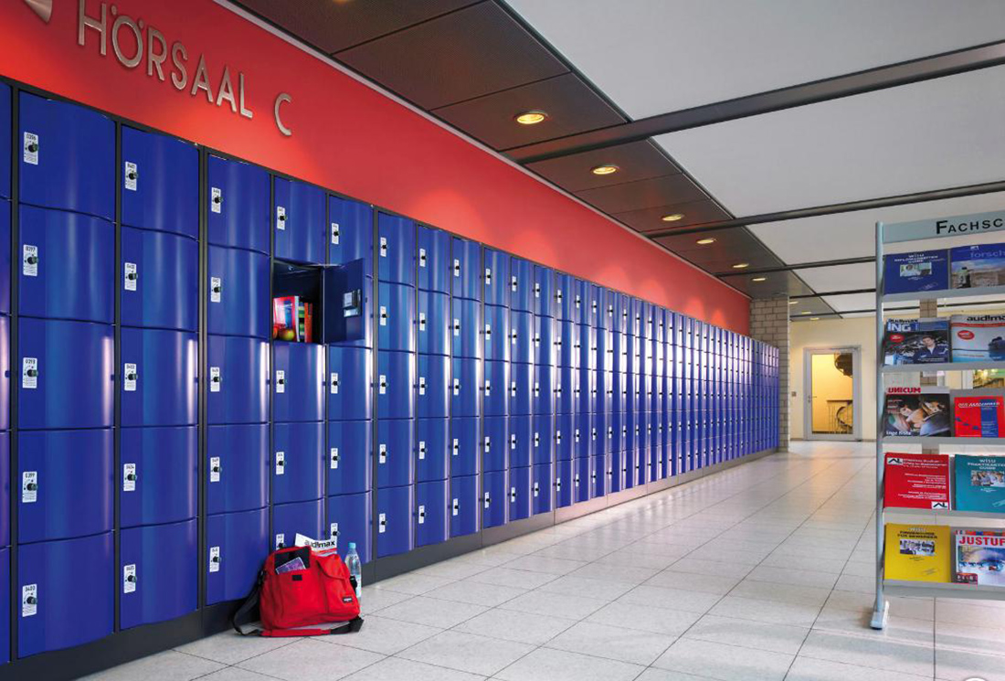 school lockers