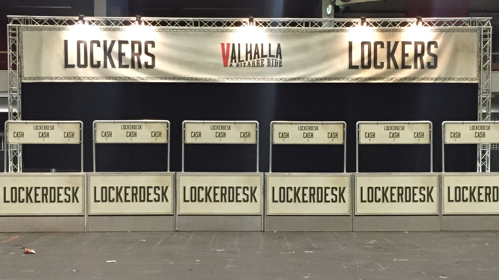 Valhalla Lockerdesk